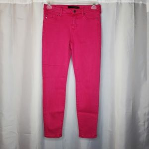 Liverpool crop pink jeans size 4/27